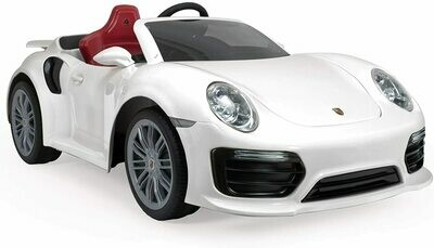 AUTO MACCHINA ELETTRICA PER BAMBINI PORSCHE 911 TURBO 12v PRODOTTO UFFICIALE