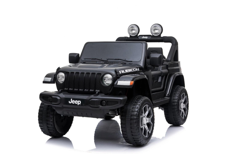 AUTO MACCHINA ELETTRICA PER BAMBINI Jeep Wrangler Rubicon 12v 4x4 (Deluxe) 2 posti  PRODOTTO UFFICIALE
