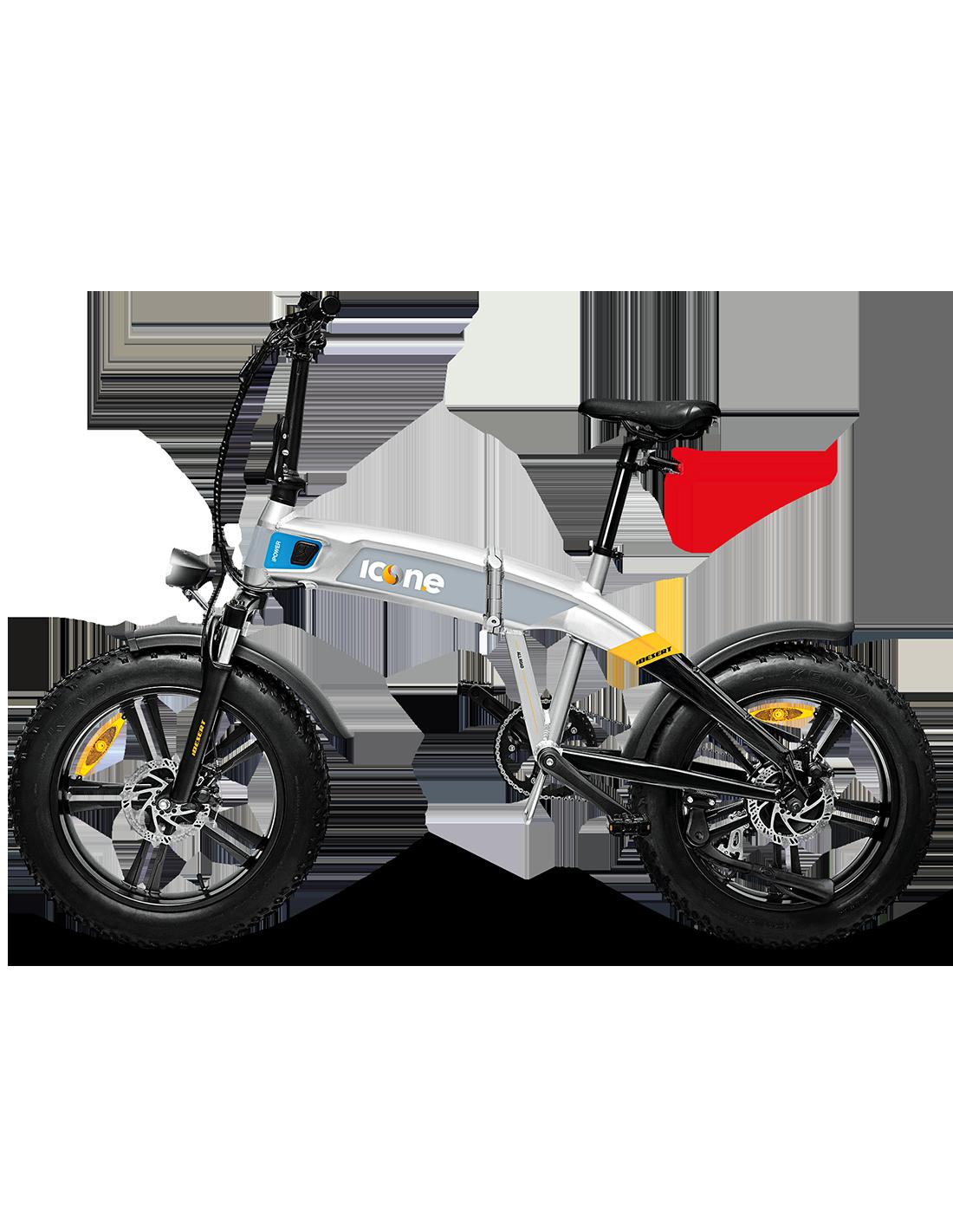 BICI BICICLETTA ELETTRICA E-Bike X5 IDESERT STARDUST SILVER