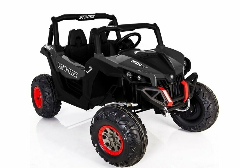 AUTO ELETTRICA PER BAMBINI JEEP Thunder 24v 2 POSTI CON TV TOUCH SCREEN (Deluxe)