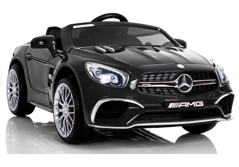 AUTO ELETTRICA PER BAMBINI Mercedes SL 65 12v 2 POSTI CON TV TOUCH SCREEN (Deluxe) Full Optional PRODOTTO UFFICIALE