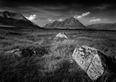 Buachaille Etive Mor and Rock -Scotland
