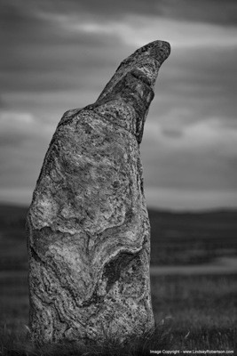 Callanish Standing Stones, Stone l - Isle of Lewis