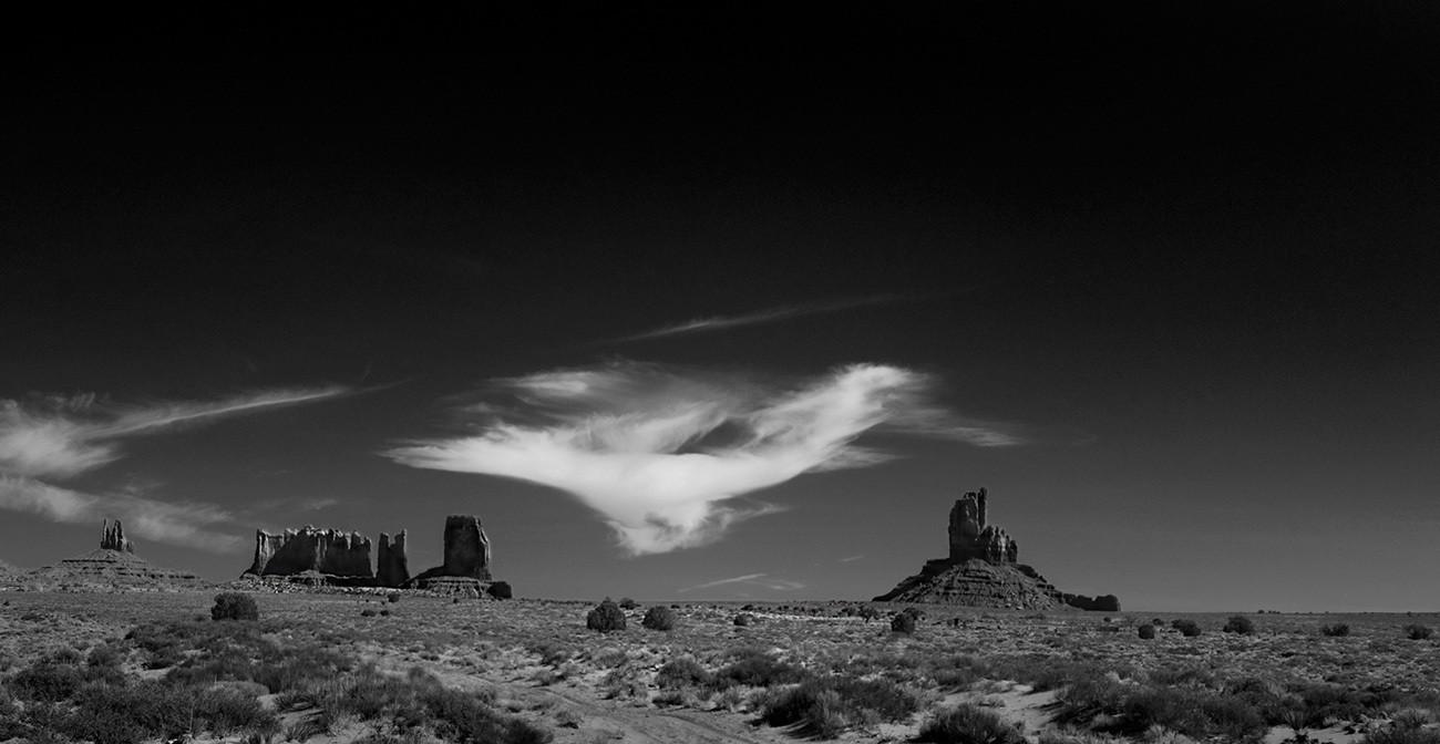 Navajo Sky, Monument Valley - Utah