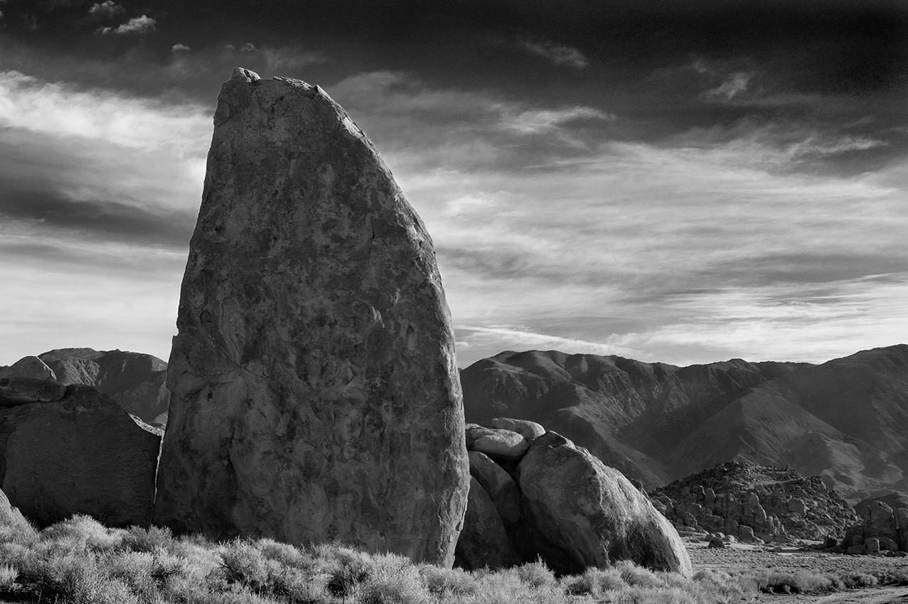 Sail Rock, Lone Pine - California