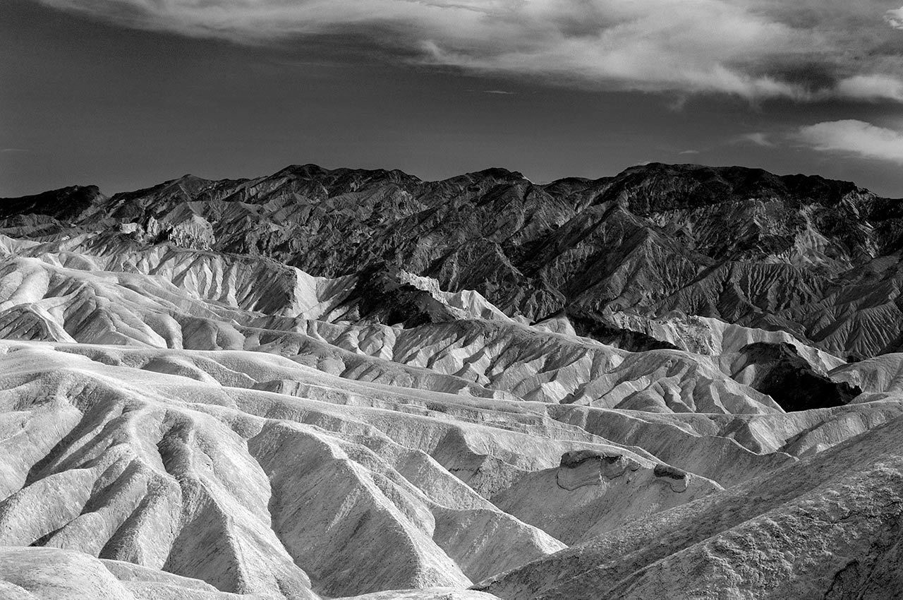 Zabrinski Point, Death Valley - California