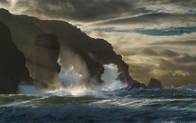 Dailbeag Cliffs, Lewis - Scotland