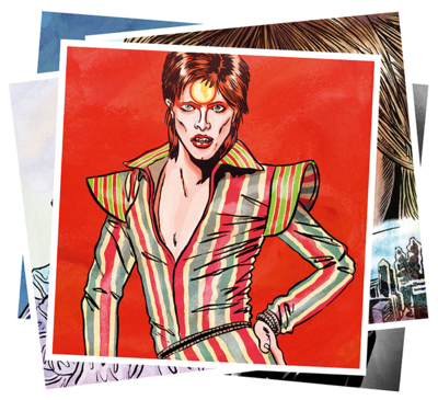 BOWIE MINI-POSTER CARDS - SET 2