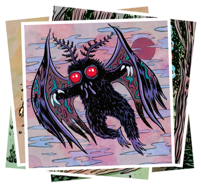 CRYPTID MINI-POSTER CARDS - SET 1