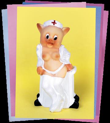 EROTIC PIGS CARD - SET 1