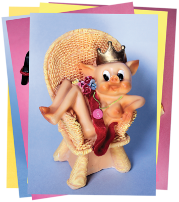 EROTIC PIGS CARD - SET 2