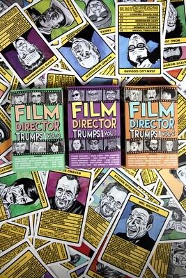 FILM DIRECTORS TRUMPS Vol.1-3 + Bonus Stickers!