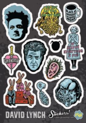 DAVID LYNCH A5 Vinyl Sticker Sheet