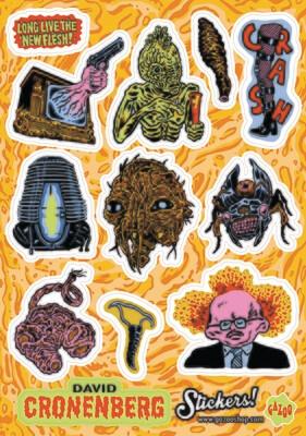 DAVID CRONENBERG A5 Vinyl Sticker Sheet