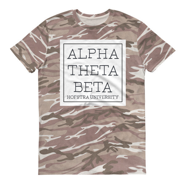 AOB Camo modern Short-sleeved camouflage t-shirt