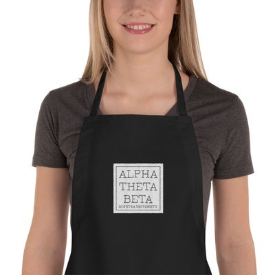 AOB Embroidered Apron