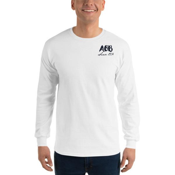 AOB Patriotic Pup Long Sleeve T-Shirt