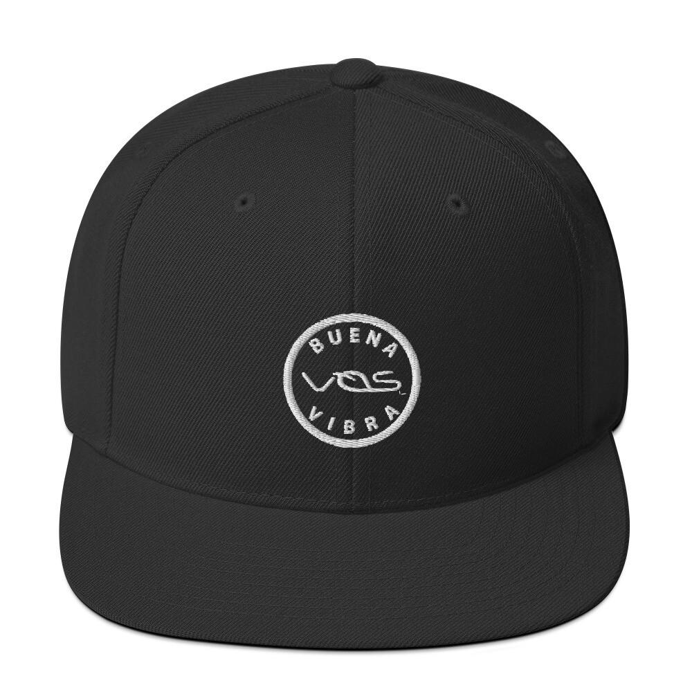 Snapback Cap│Buena Vibra│White Logo