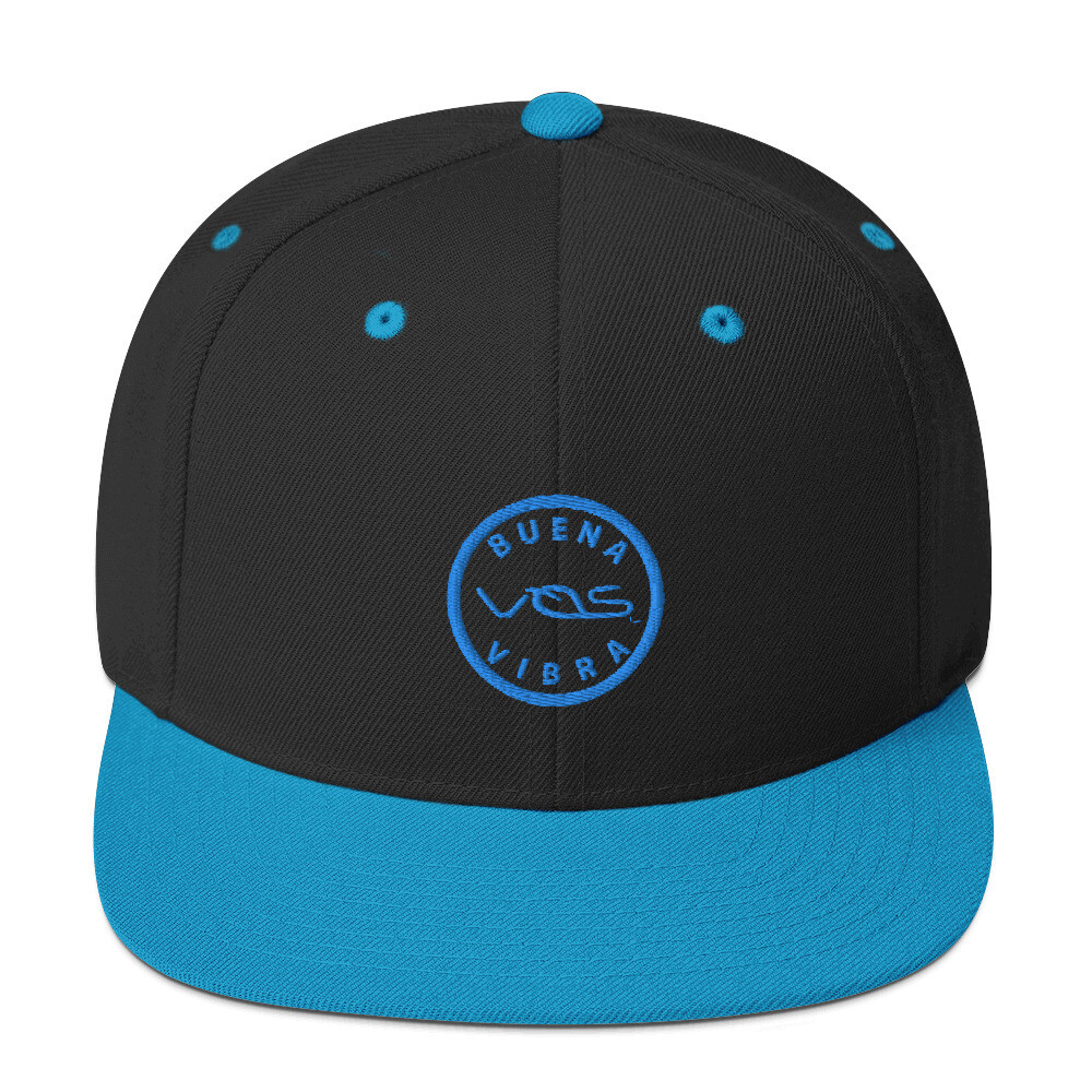 Snapback Cap│Buena Vibra│Teal Logo