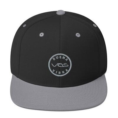 Snapback Cap│Buena Vibra│Gray Logo