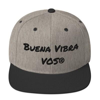 Snapback Cap│Buena Vibra│Black Script