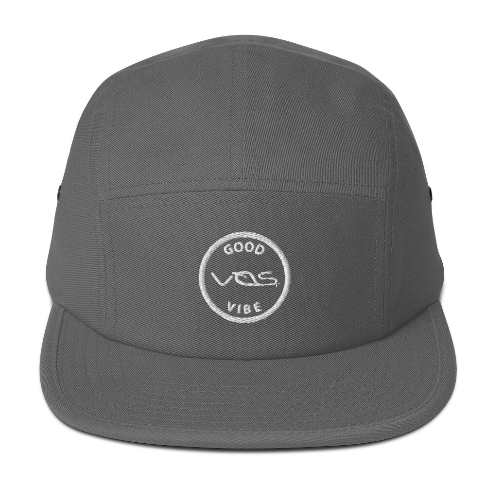 Five Panel Cap│Good Vibe│White Logo