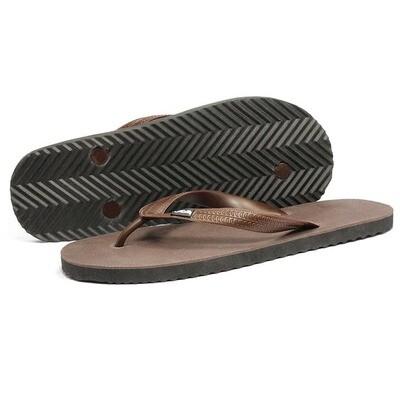 Chocolate Brown | Flip Flops | Wide