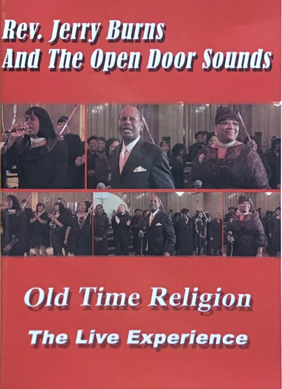 Rev. Jerry Burns and The Open Door Sounds  Old Time Religion CD