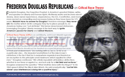 Engagement Card: Frederick Douglass Republicans on Critical Race Theory