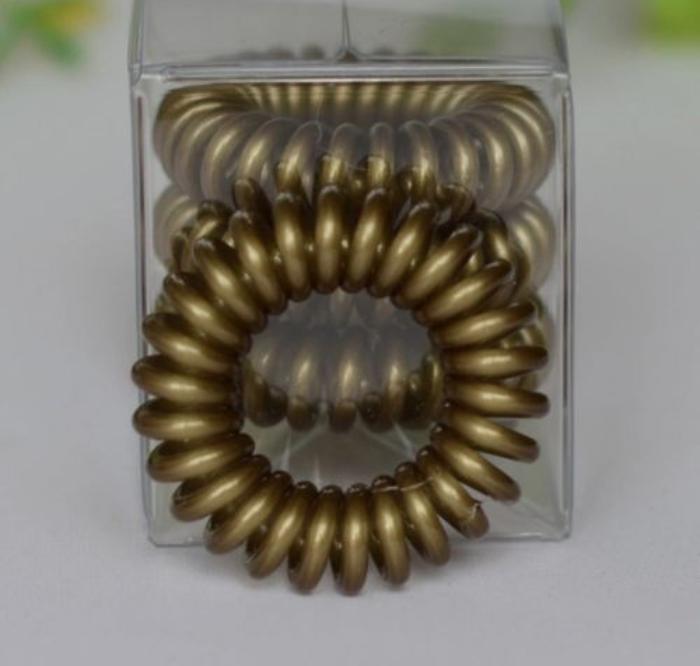 SAMPLE Gold Spiral Hair Tie