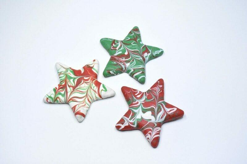 Christmas Stars - Swirled