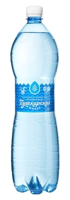 """Вода природная питьевая """"Пушкарская Живая"""", 1,5 л."""
