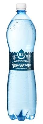 """Вода минеральная лечебно-столовая """"Пушкарская"""", 1,5 л."""