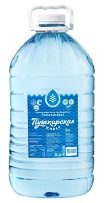 """Вода природная питьевая """"Пушкарская Живая"""", 5 л."""