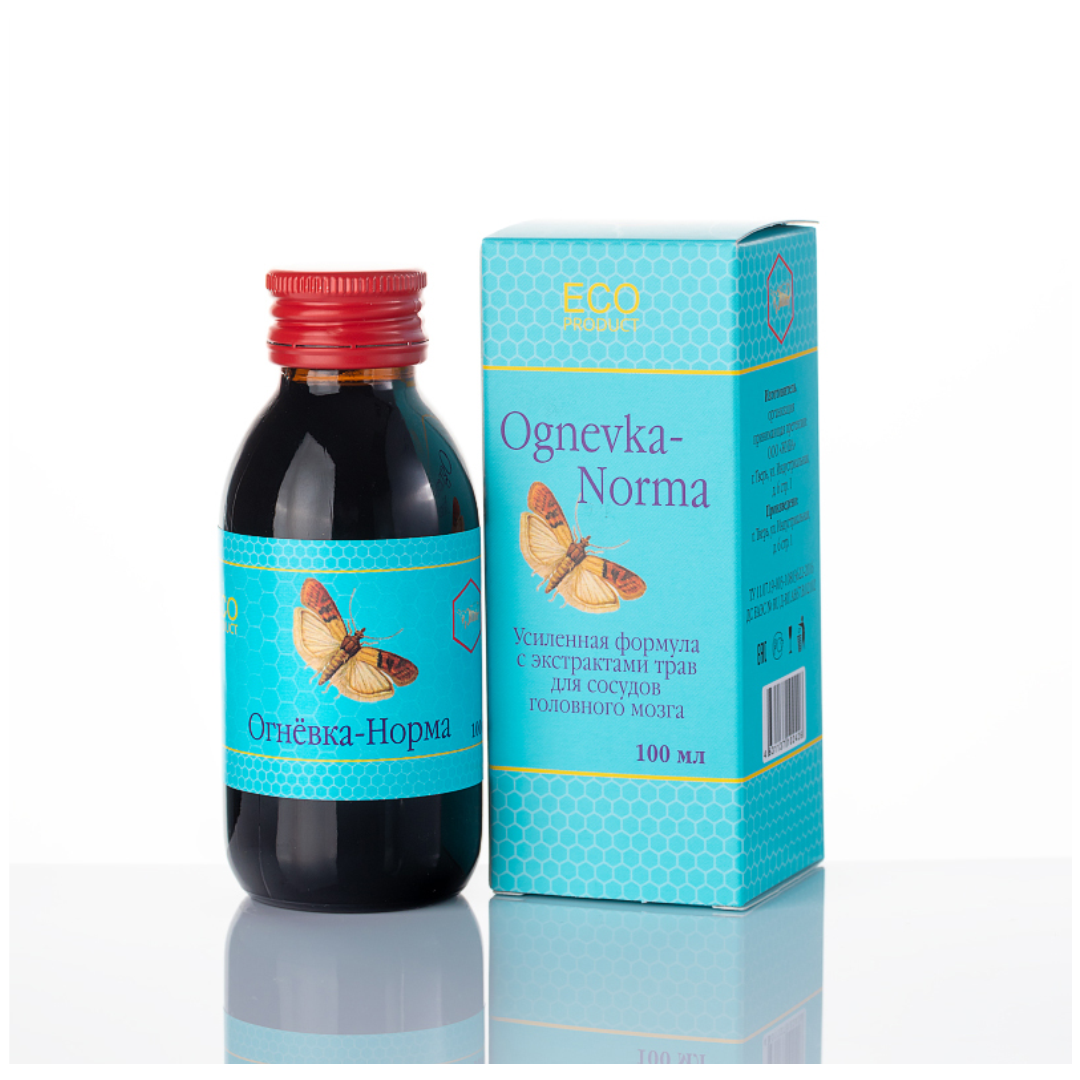 Концентрат напитка безалкогольного на натуральном сырье ОГНЕВКА-НОРМА