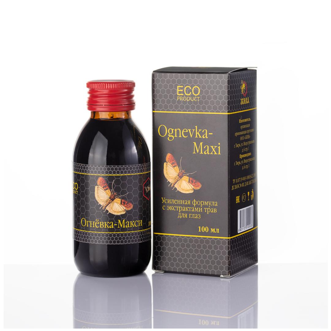 Концентрат напитка безалкогольного на натуральном сырье Огнёвка-Макси