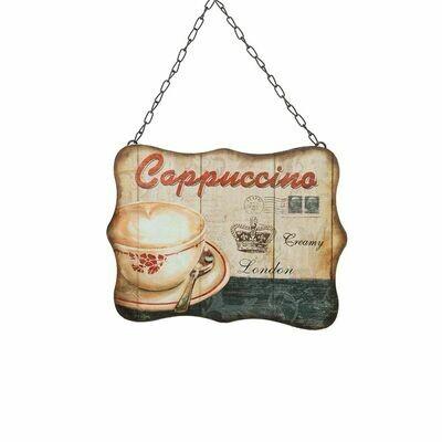 ΠΝ ΠΙΝΑΚΑΚΙ ΜΕ ΑΛΥΣΙΔΑ 20Χ27 Cappuccino