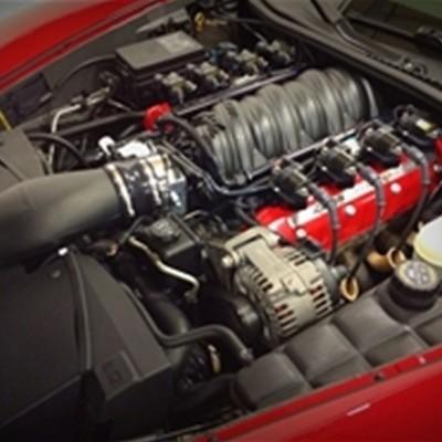 Chevrolet Corvette Halltech Killer Bee™ Ram Air Induction, LS3 & LS7 C6 Corvette