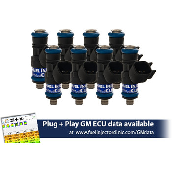 2009 Chevrolet Corvette Fuel Injector Clinic 880cc Injector Set for LS3, LS7, L76, L92, and L99 engines (High-Z)
