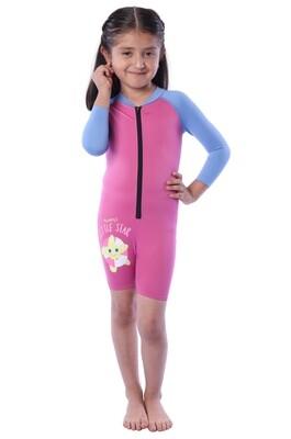 Body acuático Seamless con manga larga para Bebé. Edades de 1 años a 3X años