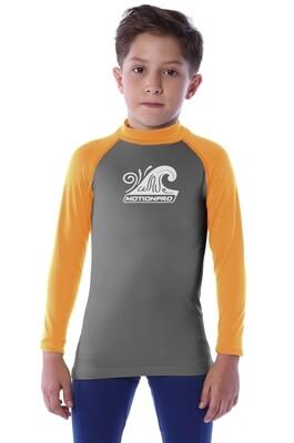 Playera acuática seamless manga larga para niño (4-10 años)