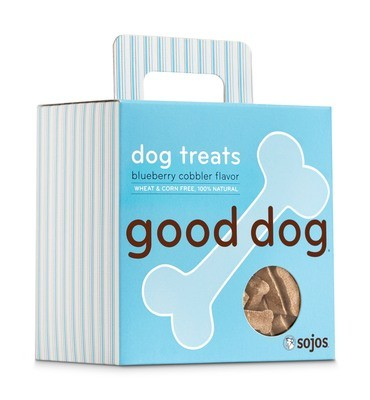 Good Dog Treats - Blueberry Cobbler