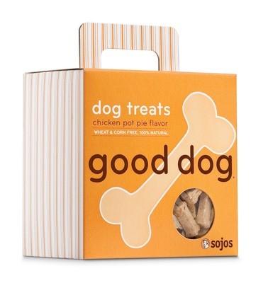 Good Dog Treats - Chicken Pot Pie