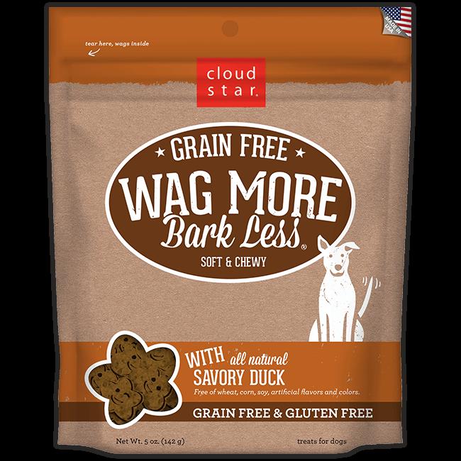Wag More Bark Less Grain Free Duck Dog Treats