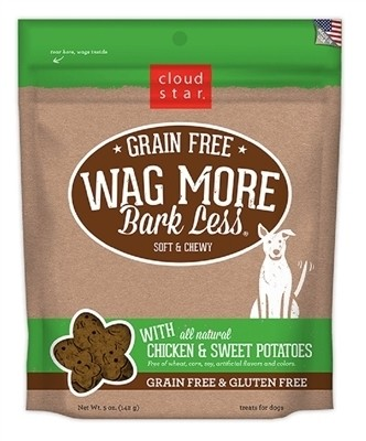 Wag More Bark Less Dog Treats - Chicken
