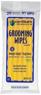 Earthbath Mango Tango Wipes - 28 count