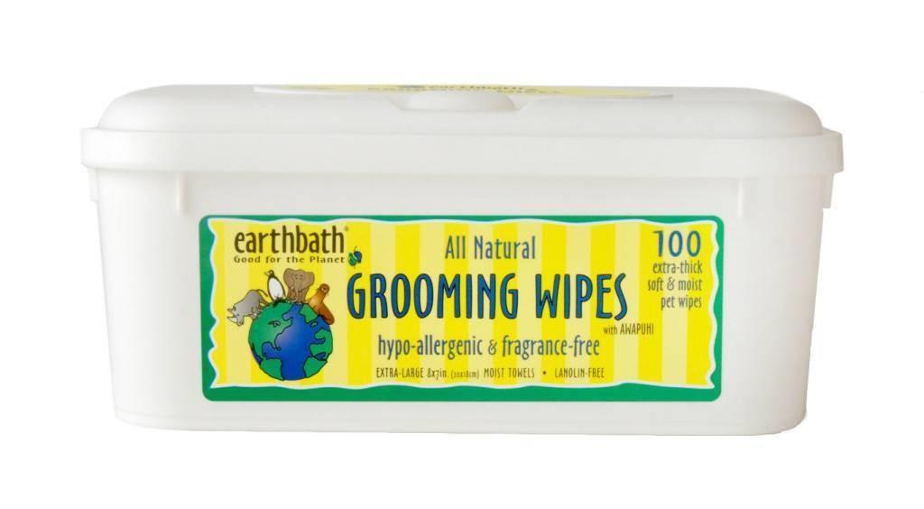 Earthbath Hypoallergenic Wipes - 100 count