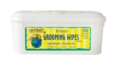 Earthbath Hypoallergenic Wipes - 100 count