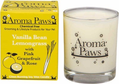 Aroma Paws Candle - Vanilla Lemongrass