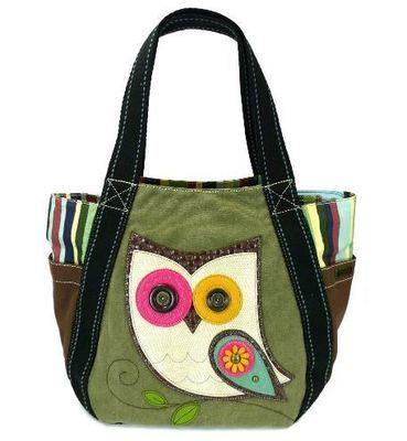 Carryall Zip Tote - HooHoo Owl